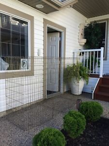 Stand up dog kennel/cage and extendable vehicle barrier Strathcona County Edmonton Area image 2