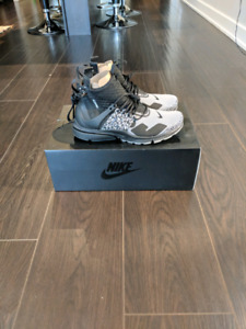 Acronym air prest mid cool gray size 8