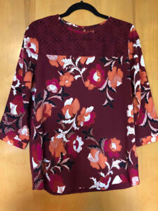 Brand New/Tags Attached Van Heusen Blouse