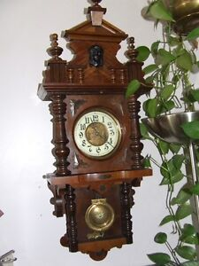 Gustav Becker Free Swinger 1880's Clock