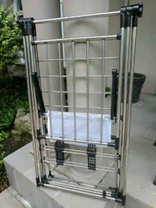 Stainless Steel Cloth Drying Rack - $50
