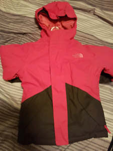 Size 5T North Face Jacket and Snowpants