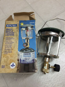 Propane lamp**New never used