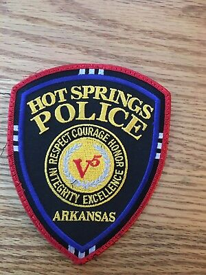 Hot Springs, AR Police Department Patch