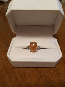 Natural  Strawberry  Quartz Ladies Ring