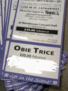 Obie Trice Tickets - St. Catharines