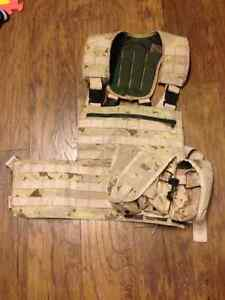 Chest rig with 3 magazine pouches London Ontario image 1