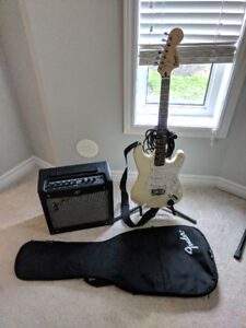 Squire Fender Strat Guitar