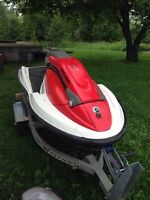 2005 Seadoo 3D with trailer