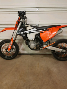 SOLD 17 KTM EXC-F 500 TIMBERSLED ST 120 LE