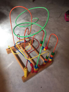 Large Educo Bead Wire Toy