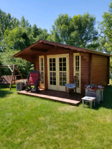She sheds, man cave or bunkie or garden house