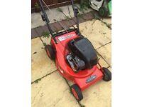 Petrol lawnmower rover mower