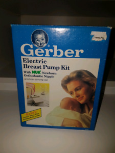 Gerber Electric Breast Pump Kit