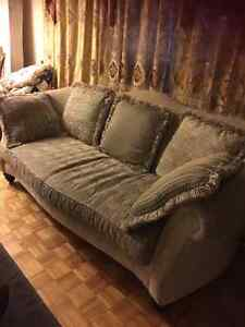 Hutch, Formal Dinning Table, Bedroom Set and Sofa Set for Sale-