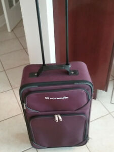 Suitcase and carry case