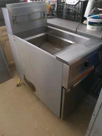 Frymaster twin basket gas fryer Catering Chop Shop