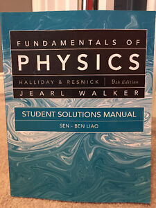 Fundamentals of Physics 9th Edition Windsor Region Ontario image 2