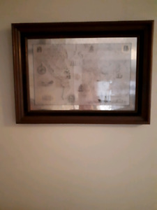 The Royal Geographical society silver map
