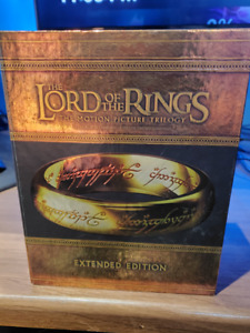 Lord Of The Rings Trilogy Bluray Extended Edtion