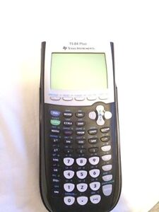Texas Instruments TI-84 Plus Silver Graphing Calculator