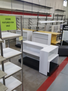 Used Retail Store Fixtures - BLOWOUT