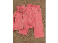 Converse girls punk velour tracksuit Age 2-3yrs