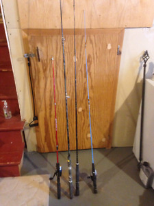 Assorted Fishing Rods for Sale: