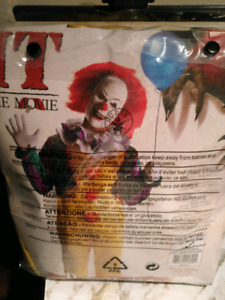 Costume Halloween Clown Pennywise