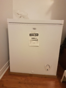 Canadian Tire Master Chef 5.1 cf Chest Freezer - 1 year old