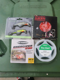 Fishing Fly lines and lures