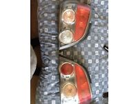 Subaru rear tail lights 2005-2007 Sti