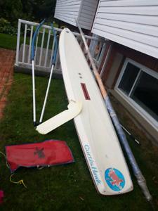 Curtis Hawk sail board
