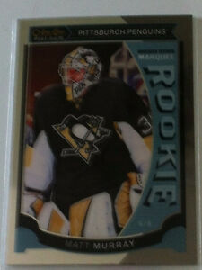 2015-16 O PEE CHEE PLATINUM MARQUEE ROOKIE - MATT MURRAY