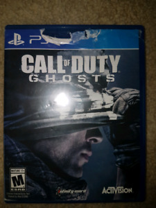 PS4 CALL OF DUTY GHOSTS + FREE 7 DAY PLAYSTATION PLUS CODE (NOT