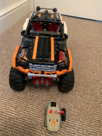 Lego technical moving truck