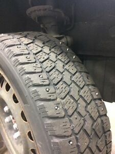 175/65 r14 tempra weather quest STUDDED WINTERS