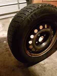 Michelin winter tires and rims 195 65r15