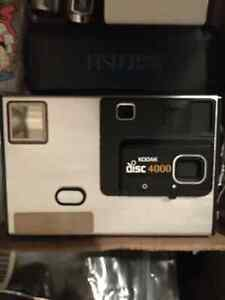 Kodak Disc 4000 vintage camera used good condition