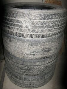 4 / 20 inch used Truck Tires One on steel rim