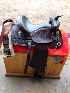 Western Riding Saddle