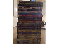 BUNDLE OF 22 DVDS