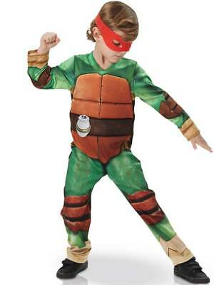 Child Teenage Mutant Ninja Turtles TMNT Movie Fancy Dress Costume + Masks Kids - Kids Teenage Mutant Ninja Turtle Costume