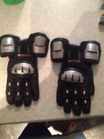 Icon timax titanium gauntlet gloves