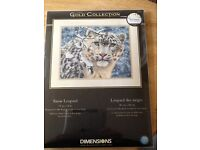 DIMENSIONS GOLD COLLECTION SNOW LEOPARD