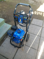 Offering pressure washer services and more