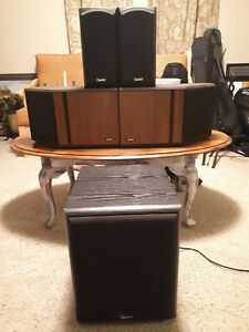 2 Bose speakers ( $150)- 3 pieces Quest( $150) by all for $260.