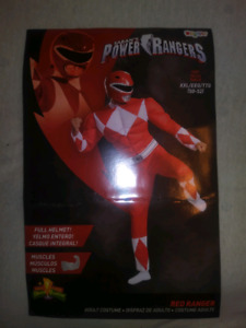 MMPR Costumes Red & Blue 2XL Sizes