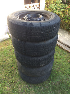 195 70R14 Tires and Rims