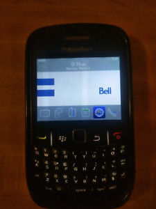 Blackberry Curve 8530 w/case +charger